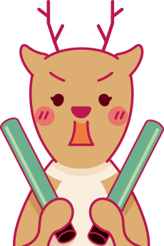 ガチ恋シカ(鹿・♂)